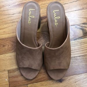 Brand new LuLu slip on shoes.